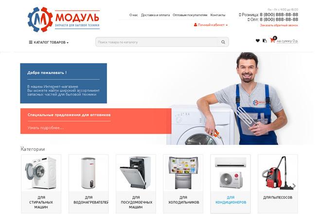 Профессиональный Интернет-магазин на Opencart 67 - kwork.ru