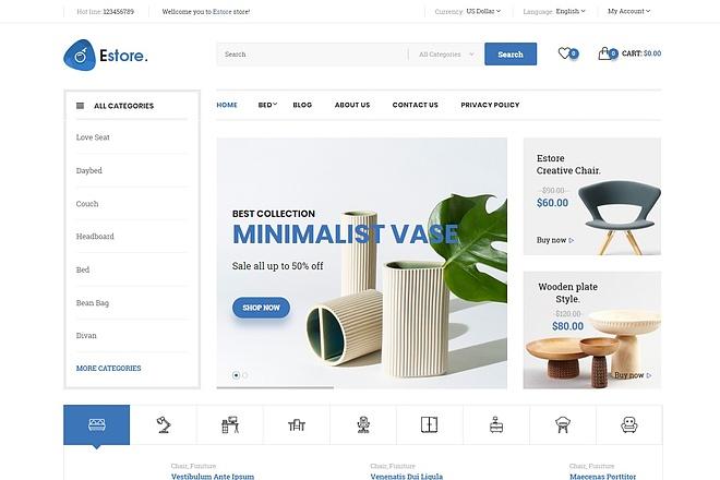 Создам интернет-магазин на CMS OpenCart, OcStore 46 - kwork.ru