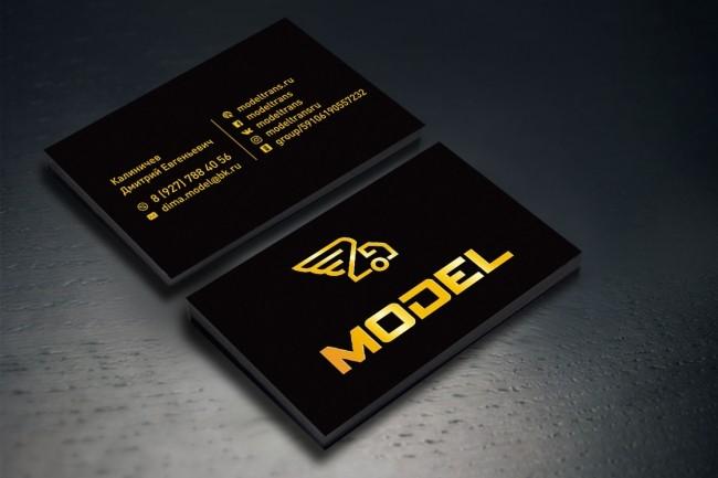 Создам 3 варианта визитки 38 - kwork.ru
