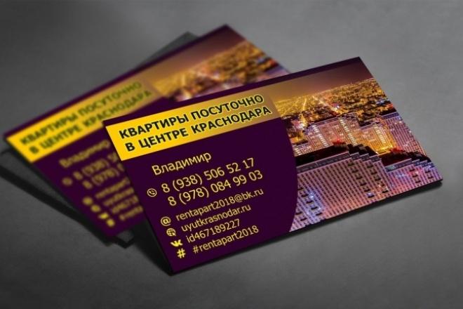 Создам 3 варианта визитки 96 - kwork.ru