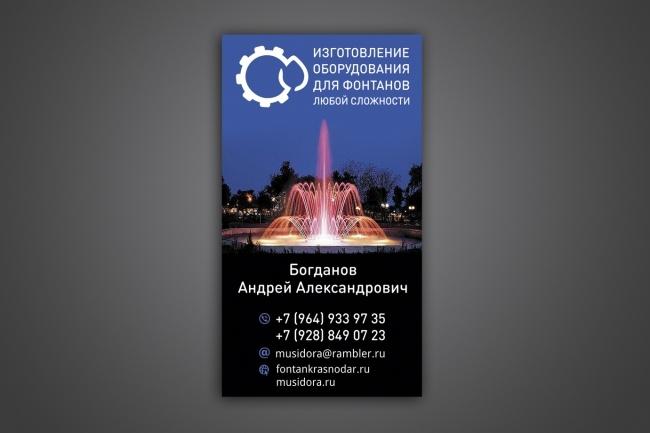 Создам 3 варианта визитки 60 - kwork.ru