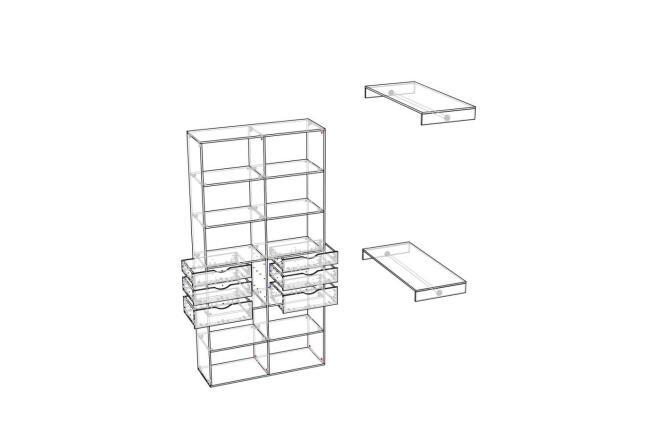 Чертежи мебели для производства в программе базис мебельщик 4 - kwork.ru