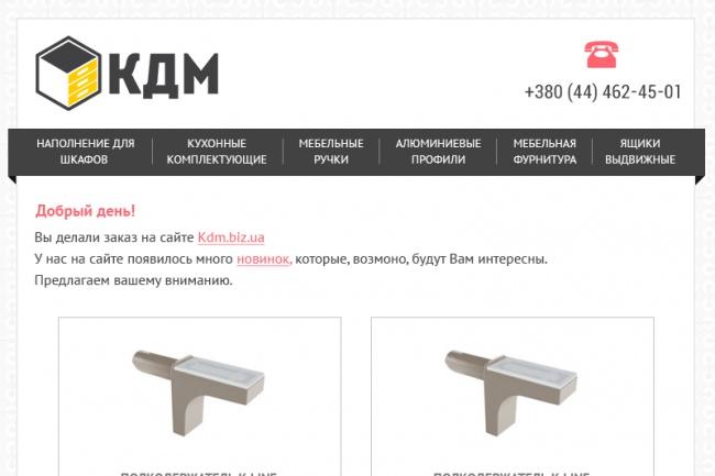 Сделаю шаблон для email-рассылки 12 - kwork.ru