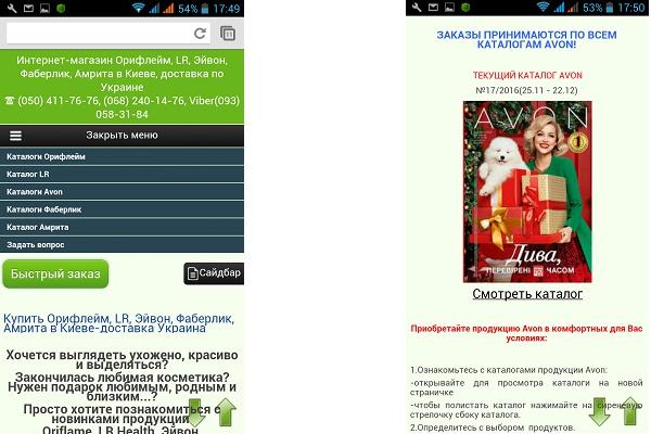 Адаптация сайта под мобильные устройства 66 - kwork.ru