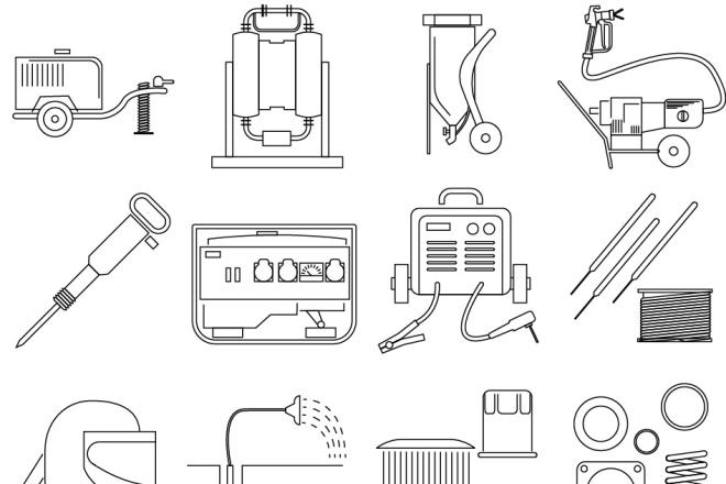 Нарисую 6 иконок в любом стиле 10 - kwork.ru