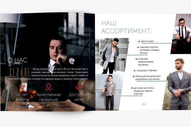 Разработаю Маркетинг Кит, для личных встреч и рассылки 3 - kwork.ru