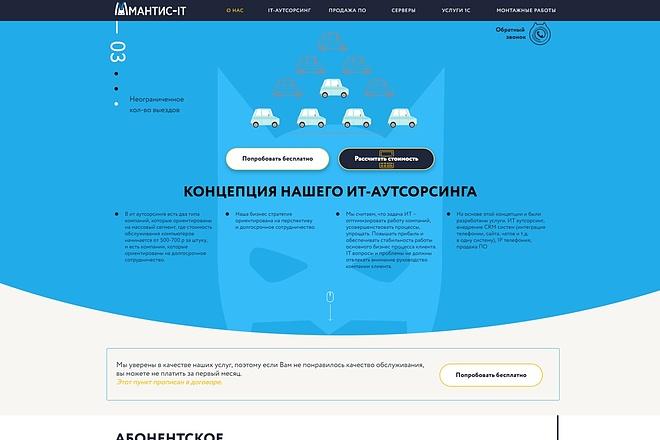 Верстка любой сложности по вашему макету 22 - kwork.ru