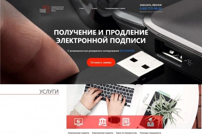 Любая верстка из PSD макетов 58 - kwork.ru