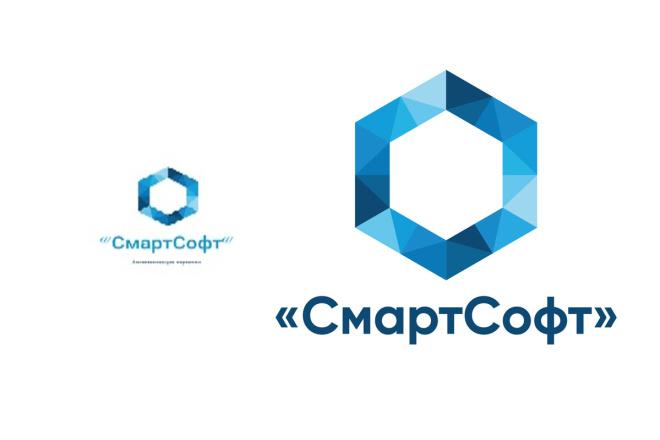 Дизайн логотипа по Вашему эскизу 62 - kwork.ru