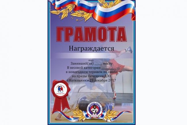 Дизайн графических материалов 60 - kwork.ru