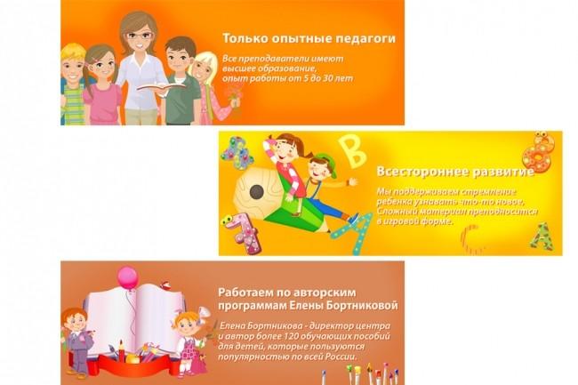 До 3х баннеров 32 - kwork.ru