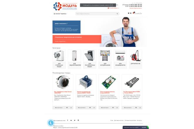 Профессиональный Интернет-магазин на Opencart 66 - kwork.ru