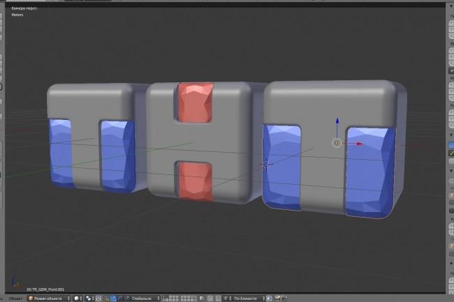 Изготовление 3D модели, текстурирование + рендер 1 ракурса 101 - kwork.ru