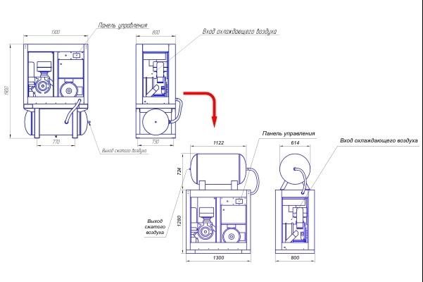 Переведу в вектор ваши чертежи, схемы, несложные изображения 48 - kwork.ru