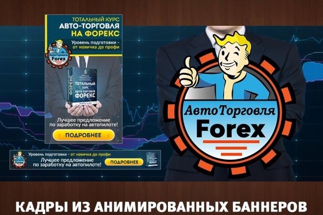 2 gif - анимированных рекламных баннера 64 - kwork.ru