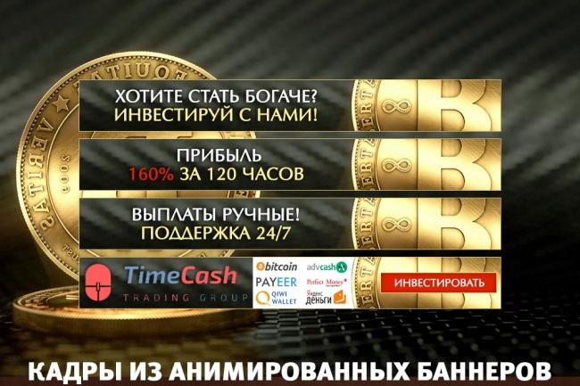 2 gif - анимированных рекламных баннера 54 - kwork.ru