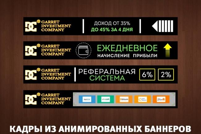 2 gif - анимированных рекламных баннера 52 - kwork.ru