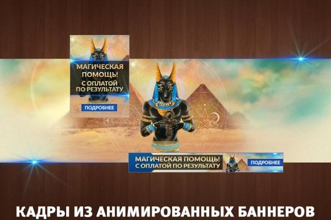 2 gif - анимированных рекламных баннера 47 - kwork.ru