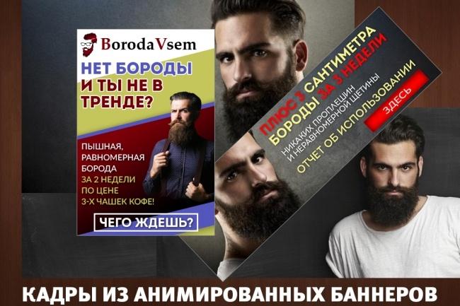 2 gif - анимированных рекламных баннера 42 - kwork.ru