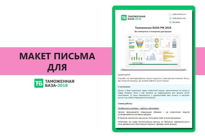 Создам html письмо для e-mail рассылки 12 - kwork.ru