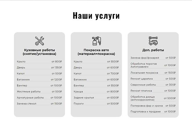Сайт под ключ. Landing Page. Backend 47 - kwork.ru