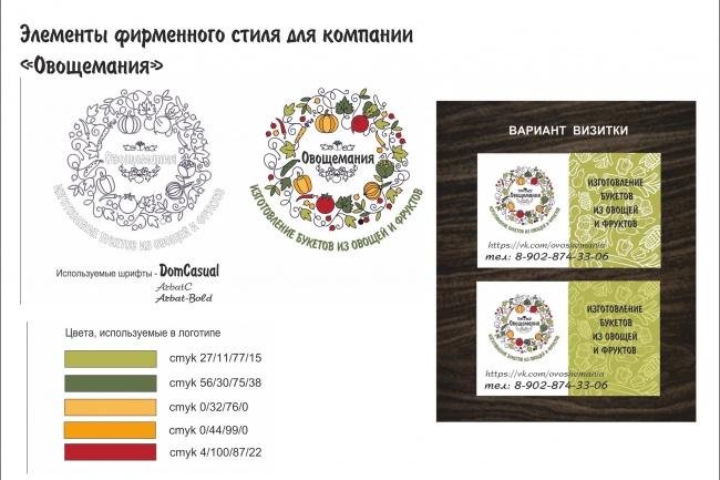 Разработаю фирменный стиль 22 - kwork.ru