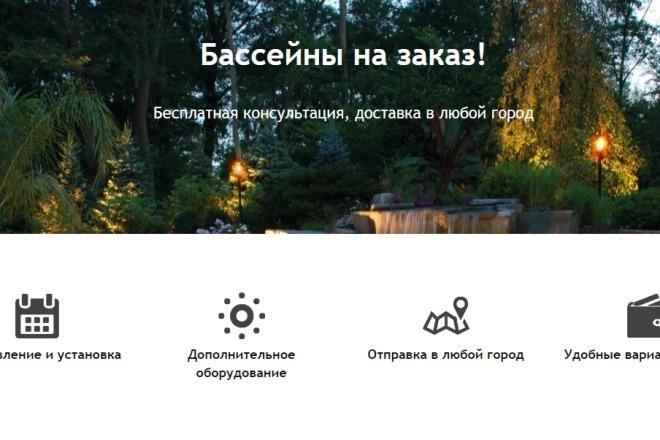 Копирование лендингов, настройка форм, корзины, правки, виджеты 7 - kwork.ru
