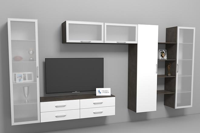 Визуализация мебели, предметная, в интерьере 5 - kwork.ru