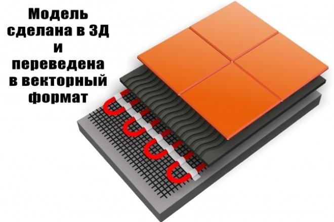Создание 3Д моделей 80 - kwork.ru
