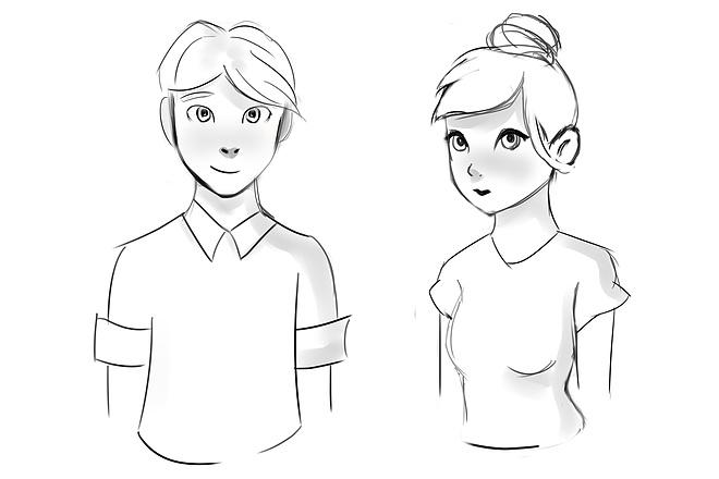 Нарисую персонажа или целую иллюстрацию 9 - kwork.ru