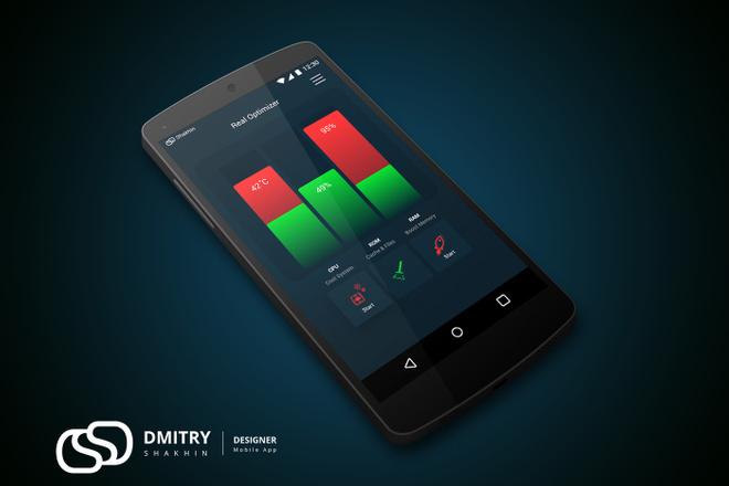 UX-UI Дизайн мобильного приложения для iOS - Android 14 - kwork.ru