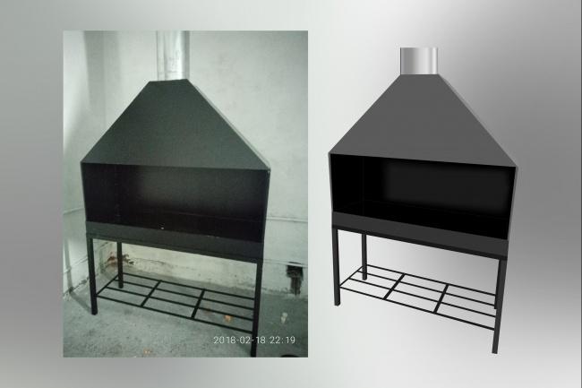 Отрисовка в векторе, формат Coreldraw, по рисунку, фото, сканированию 70 - kwork.ru