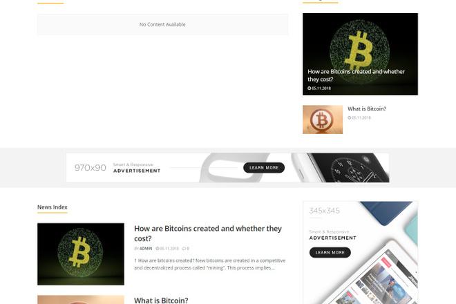 Создам красивый адаптивный блог, новостной сайт 18 - kwork.ru