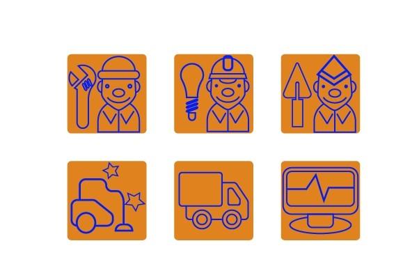 Нарисую 6 иконок в любом стиле 23 - kwork.ru