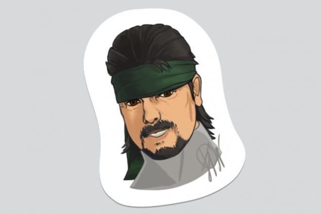 Нарисую стикер для Telegram 89 - kwork.ru