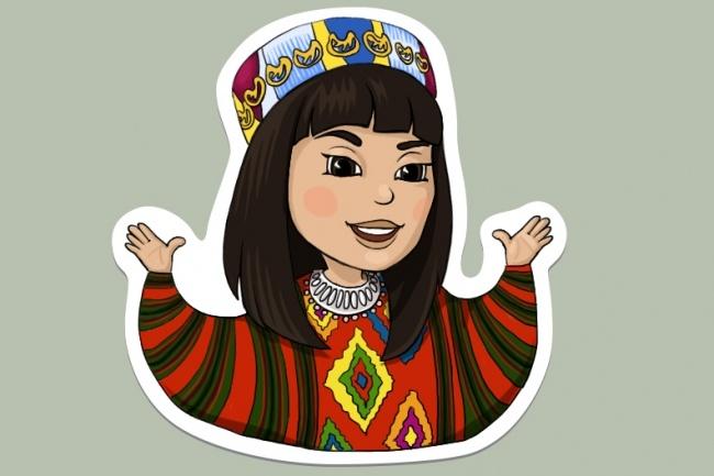 Нарисую стикер для Telegram 66 - kwork.ru