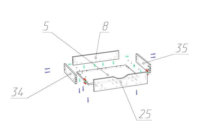 Чертежи мебели для производства в программе базис мебельщик 2 - kwork.ru