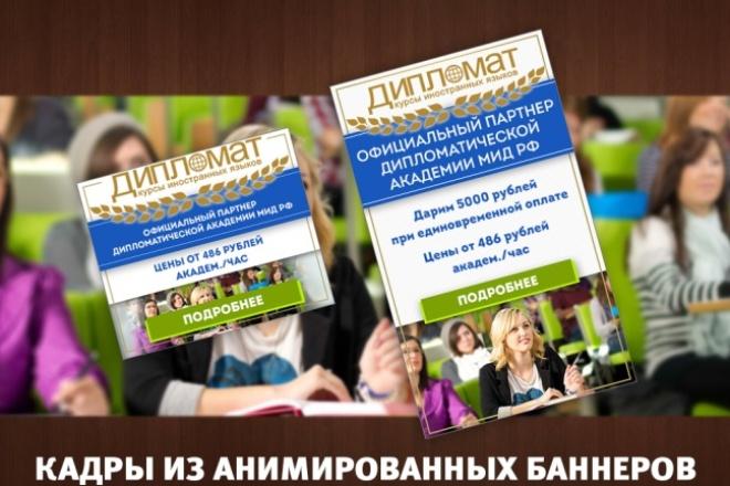 Разработка 3 статичных баннеров для Гугла или Яндекса 93 - kwork.ru