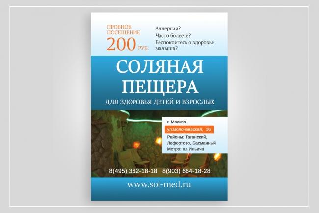 Создам красивый дизайн-макет флаера, листовки А5, А6 46 - kwork.ru