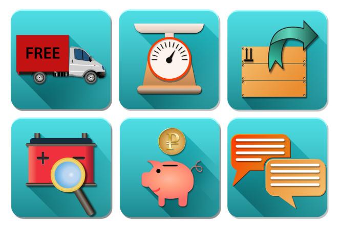 Нарисую 6 иконок в любом стиле 7 - kwork.ru
