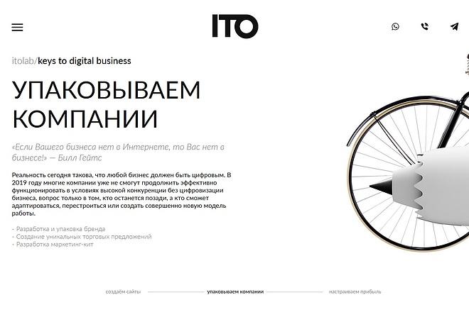 Верстка страницы сайта или лендинга из вашего PSD 14 - kwork.ru