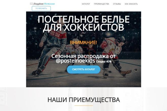 Копия сайта, landing page + админка и настройка форм на почту 22 - kwork.ru