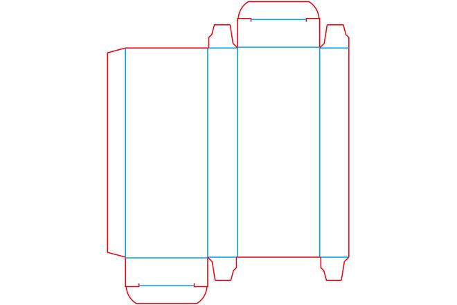Разработка кроя упаковки из картона или микрогофрокартона 18 - kwork.ru