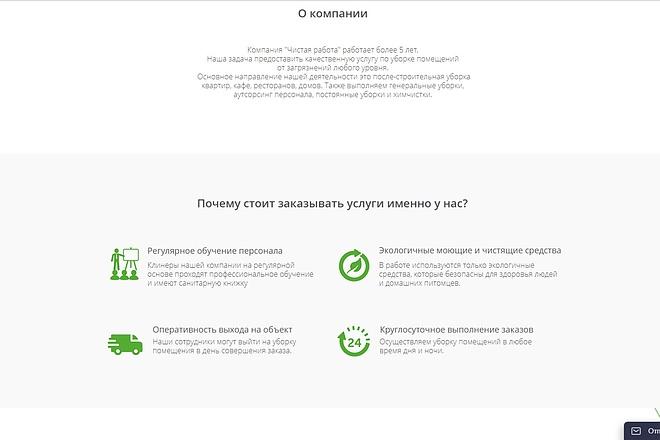 Скопирую Landing Page, Одностраничный сайт 43 - kwork.ru