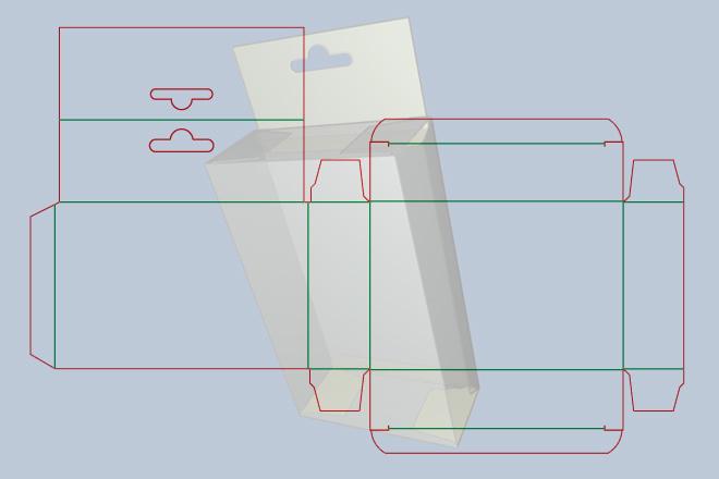 Разработка кроя упаковки из картона или микрогофрокартона 25 - kwork.ru
