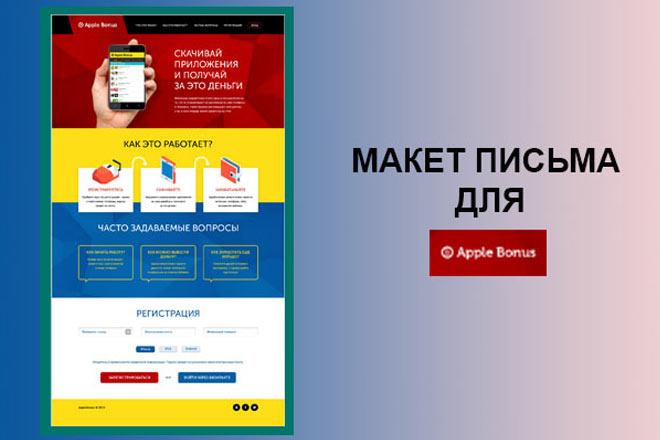 Создам html письмо для e-mail рассылки 25 - kwork.ru