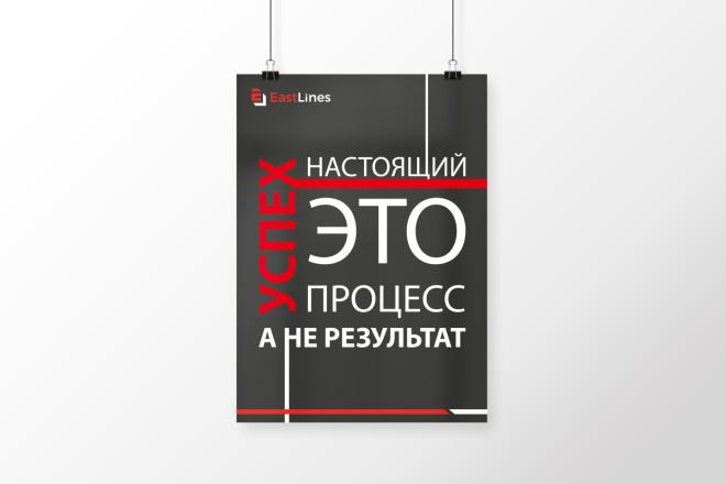 Разработаю дизайна постера, плаката, афиши 8 - kwork.ru