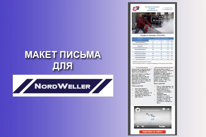 Создам html письмо для e-mail рассылки 7 - kwork.ru