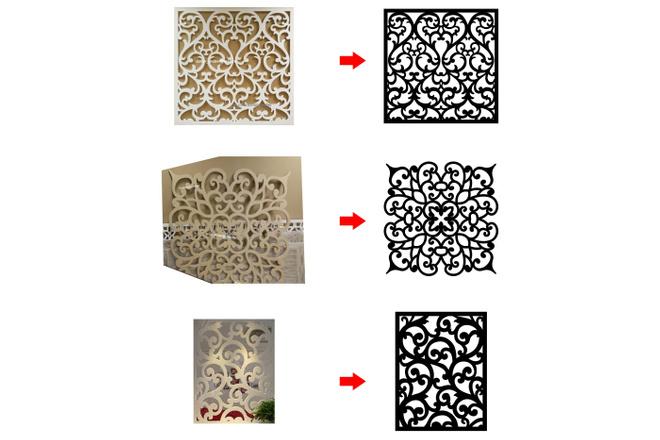 Отрисовка в векторе, формат Coreldraw, по рисунку, фото, сканированию 9 - kwork.ru
