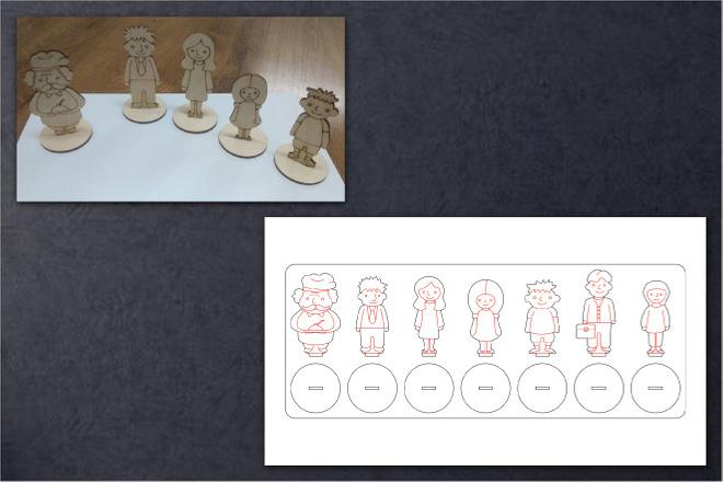 Переведу в вектор ваши чертежи, схемы, несложные изображения 21 - kwork.ru